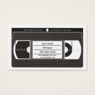 Vectorized Videotape Business Card