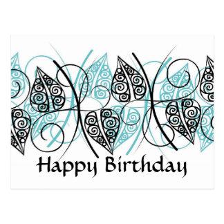 Vectors - Happy Birthday - Customized Postcard