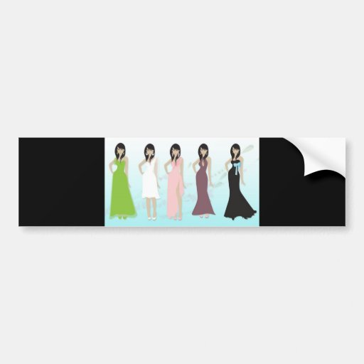 vectorvaco_women_formal_dress_09112701_large bumper stickers