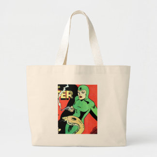 Veda the Cobra Woman Large Tote Bag