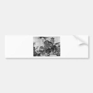 Vedute di Roma by Giovanni Battista Piranesi Bumper Sticker