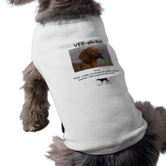 Vee-sh-la Pet T-shirt
