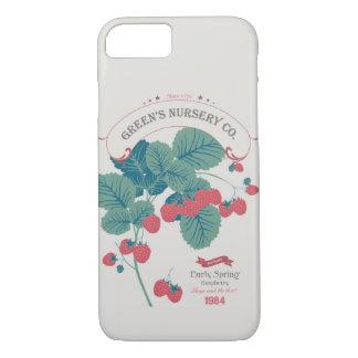Veg Love Collection No.4 Raspberry iPhone 7 Case