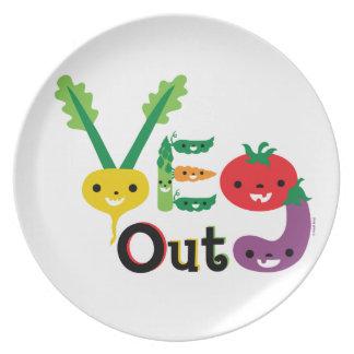 Veg Out Dinner Plate