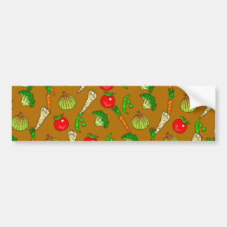 Veg Wallpaper Bumper Sticker