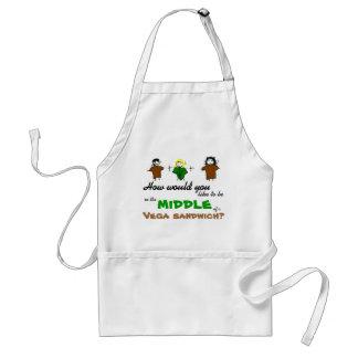 Vega sandwich apron
