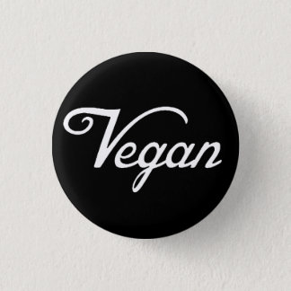 Vegan 1 Inch Round Button