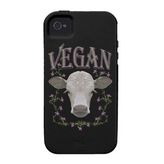 Vegan - animals want to live Case-Mate iPhone 4 covers