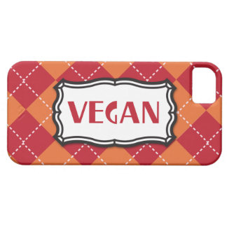 Vegan Argyle Pattern Case For The iPhone 5
