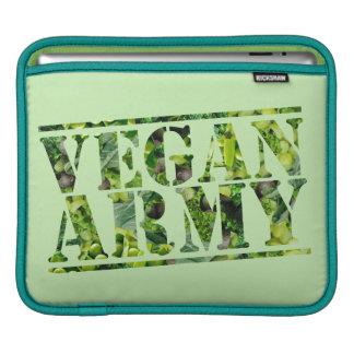 VEGAN ARMY iPad SLEEVE