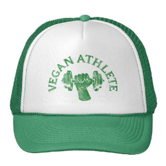 Vegan Athlete Cap Trucker Hat
