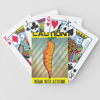 VEGAN ATTITUDE BICYCLE PLAYING CARDS