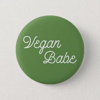 Vegan Babe 2 Inch Round Button