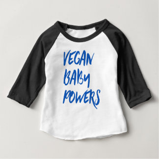 """""""Vegan Baby Powers"""" baby Baby T-Shirt"""