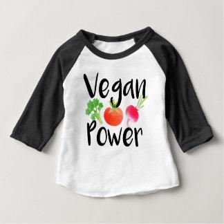 """""""Vegan Baby Powers"""" Baby T-Shirt"""