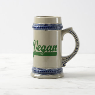 Vegan Beer Stein
