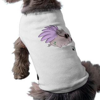 Vegan Bob Flying Vegan Pig T Shirt