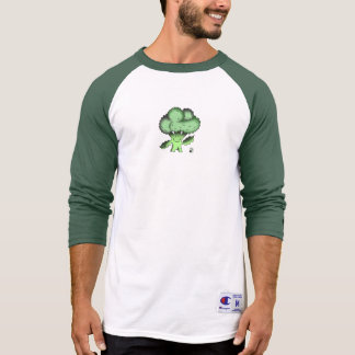 Vegan Bob Organic Broccoli Baseball Shirt