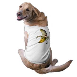 vegan bob tattooed vegan banana pet shirt