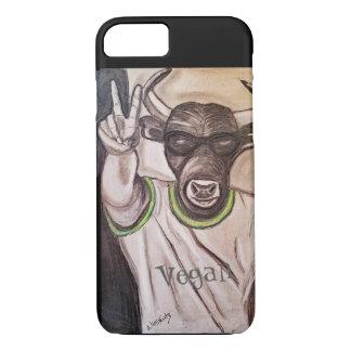 Vegan Bull iPhone 7 Case