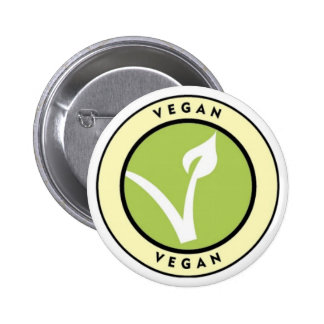 Vegan! Button for Vegans