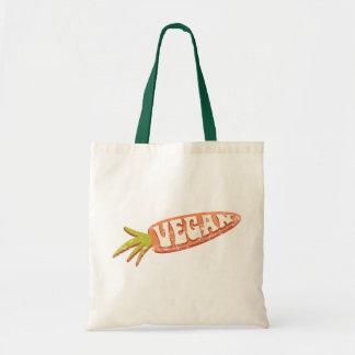 Vegan Carrot Tote Bag
