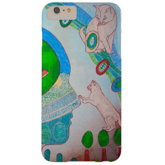 Vegan cat barely there iPhone 6 plus case