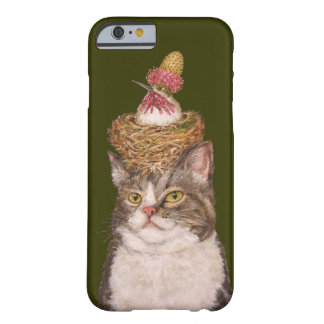 Vegan cat iPhone 6 barely there case