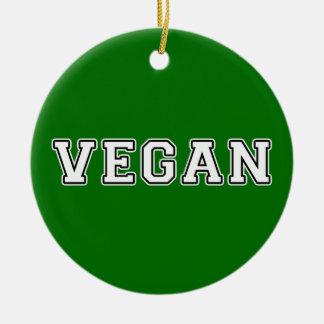Vegan Ceramic Ornament