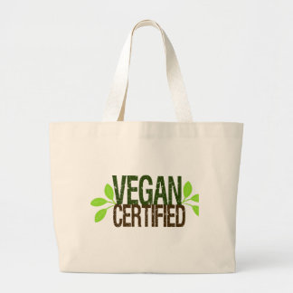 Vegan Certified Large Tote Bag