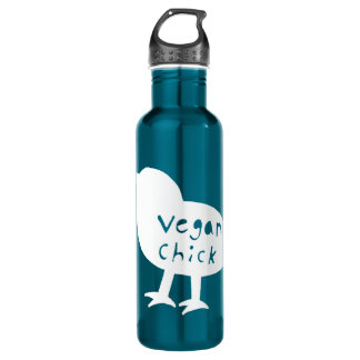 Vegan Chick 710 Ml Water Bottle