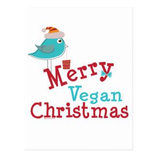 Vegan Christmas Postcard
