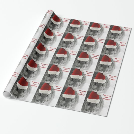 Vegan Christmas Wrapping Paper