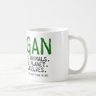 Vegan Coffee Mug