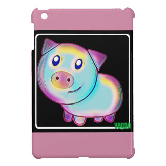 Vegan coloured pig cover for the iPad mini