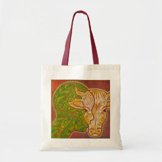 vegan connection cow tote bag