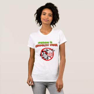 Vegan & Cruelty Free Cow Shirt
