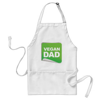 Vegan Dad Label Standard Apron