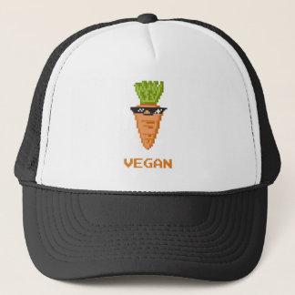 """Vegan """"Deal With It"""" Carrot Trucker Hat"""