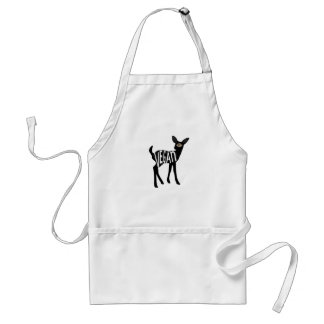 Vegan Deer apron