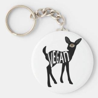Vegan Deer keychain
