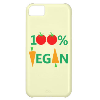 Vegan Diet Cute Cartoon Tomatoes and Carrots iPhone 5C Cover