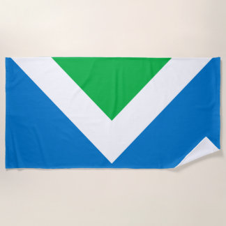 Vegan Flag Beach Towel