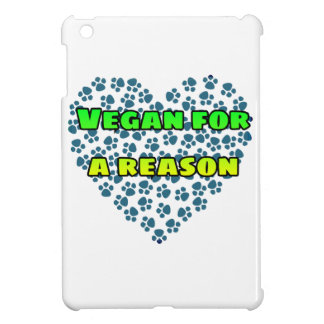 Vegan for a reason iPad mini cover