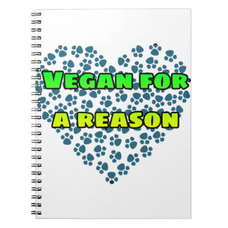 Vegan for a reason notebook