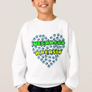 Vegan for a reason sweatshirt