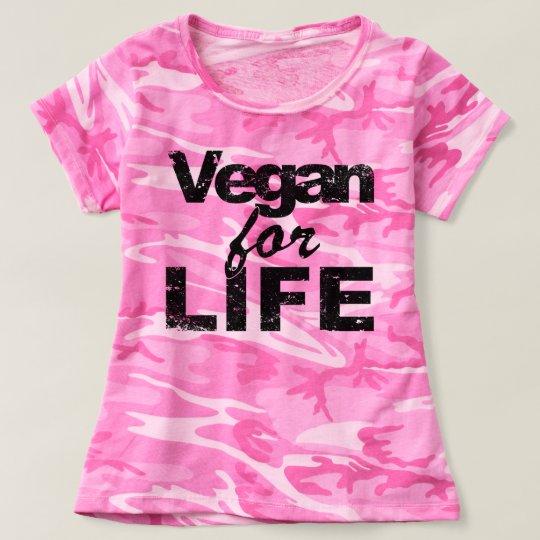 Vegan for LIFE (blk) T-shirt