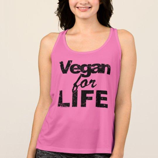 Vegan for LIFE (blk) Tank Top
