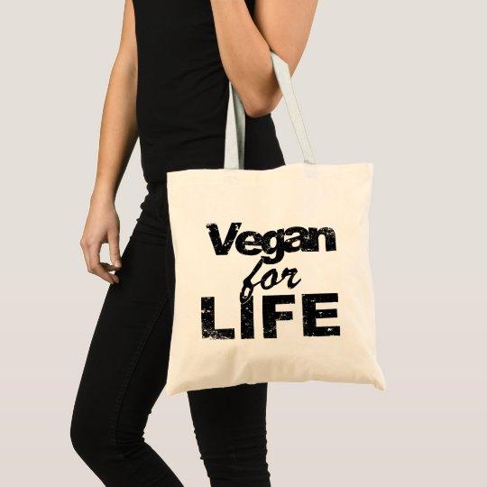 Vegan for LIFE (blk) Tote Bag