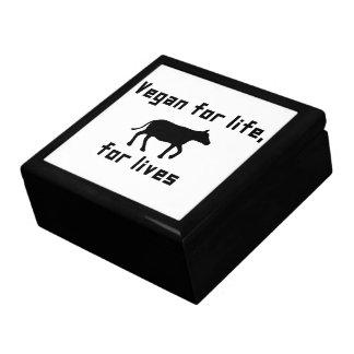 Vegan for life gift box